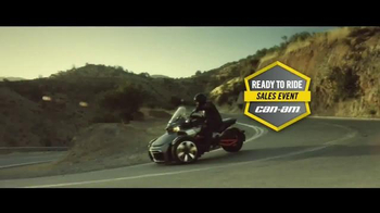 Can-Am Ready to Ride Sales Event TV Spot, 'The Spyder Lane' - Thumbnail 2