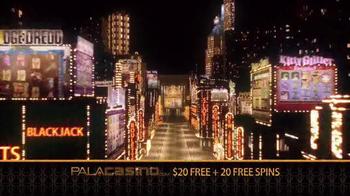 PalaCasino.com TV Spot, 'Online Casino Action' - Thumbnail 2