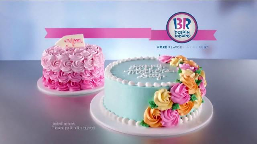 Baskin Robbins Mother S Day Cakes Tv Commercial Endless