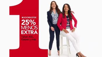 Macy's La Venta de Un Día TV Spot, 'Brazelete y joyería' [Spanish] - Thumbnail 4