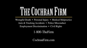 The Cochran Law Firm TV Spot, 'Victims of Medical Malpractice' - Thumbnail 10