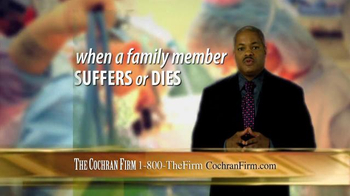 The Cochran Law Firm TV Spot, 'Victims of Medical Malpractice' - Thumbnail 4