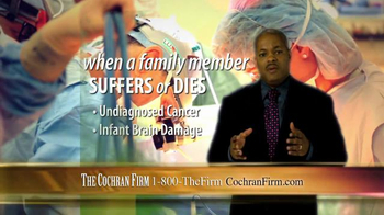The Cochran Law Firm TV Spot, 'Victims of Medical Malpractice' - Thumbnail 5