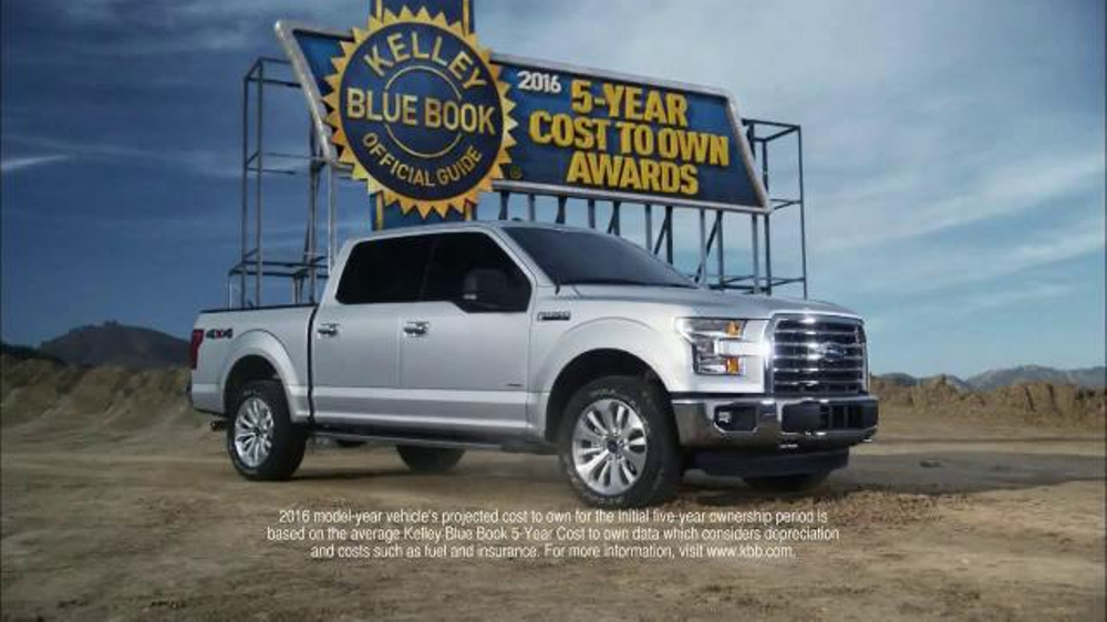 2016 Ford F-150 TV Commercial, \'Kelley Blue Book Award\' - iSpot.tv