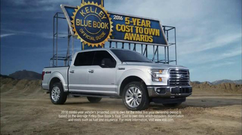 2016 Ford F-150 TV Spot, 'Kelley Blue Book Award' - Thumbnail 1
