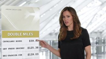 Capital One Venture Card TV Spot, 'The Statement' Feat. Jennifer Garner - Thumbnail 3