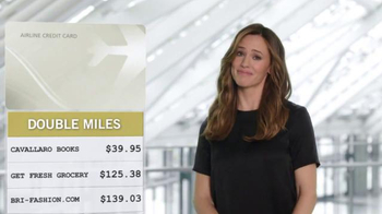 Capital One Venture Card TV Spot, 'The Statement' Feat. Jennifer Garner - Thumbnail 4