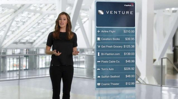 Capital One Venture Card TV Spot, 'The Statement' Feat. Jennifer Garner - Thumbnail 5