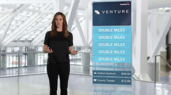 Capital One Venture Card TV Spot, 'The Statement' Feat. Jennifer Garner - Thumbnail 6