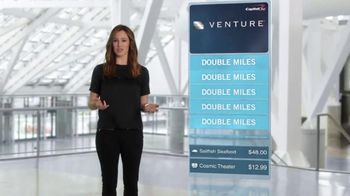 Capital One Venture Card TV Spot, 'The Statement' Feat. Jennifer Garner - 4641 commercial airings