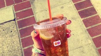 Dunkin' Donuts Iced Tea TV Spot, 'Refresh Girl' - Thumbnail 5