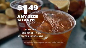 Dunkin' Donuts Iced Tea TV Spot, 'Refresh Girl' - Thumbnail 9