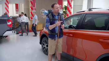 Toyota Time Sales Event TV Spot, 'Adventures' - Thumbnail 4