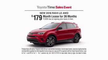 Toyota Time Sales Event TV Spot, 'Adventures' - Thumbnail 6