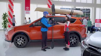Toyota Time Sales Event TV Spot, 'Adventures' - Thumbnail 7