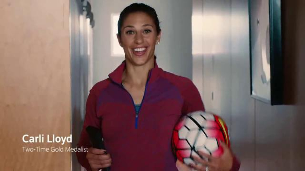 XFINITY X1 TV Commercial, 'Get Ready for the Olympics' Featuring Carli Lloyd