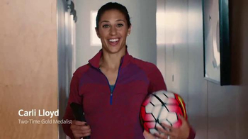 XFINITY X1 TV Spot, 'Get Ready for the Olympics' Featuring Carli Lloyd - 4943 commercial airings
