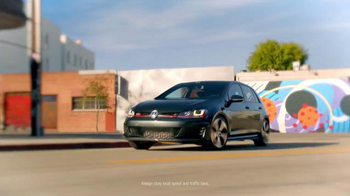 2016 Volkswagen Golf GTI TV Spot, 'Sleep Talking' Song by Beck - Thumbnail 4