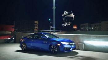 2016 Honda Civic Coupé TV Spot, 'Skate' [Spanish] - 1141 commercial airings