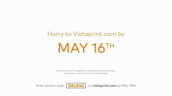 Vistaprint TV Spot, 'Try More' - Thumbnail 7