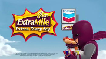 Chevron ExtraMile TV Spot, 'Exploits of ExtraMan' - Thumbnail 6