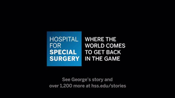Hospital for Special Surgery TV Spot, 'Back in the Game: George's Story' - Thumbnail 4