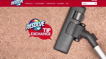 Resolve Pet Expert TV Spot, 'Tip Exchange: Dog Hair' - Thumbnail 1