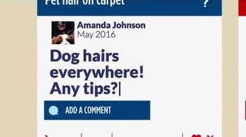 Resolve Pet Expert TV Spot, 'Tip Exchange: Dog Hair' - Thumbnail 2