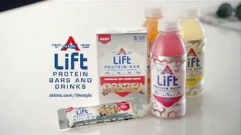 Atkins Lift Protein Bar TV Spot, 'Steady Energy' - Thumbnail 9