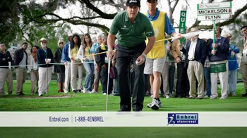 Enbrel TV Spot, 'Relieve Joint Pain' Featuring Phil Mickelson - Thumbnail 8
