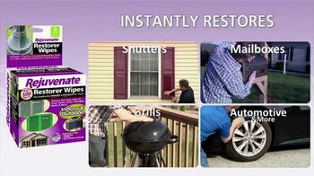 Rejuvenate Restorer Wipes TV Spot, 'Instantly Restore'