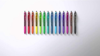 Paper Mate Ink Joy Gel Pens TV Spot, 'Fifty Fingers' - Thumbnail 5