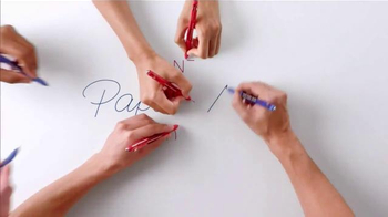 Paper Mate Ink Joy Gel Pens TV Spot, 'Fifty Fingers' - Thumbnail 2