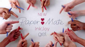 Paper Mate Ink Joy Gel Pens TV Spot, 'Fifty Fingers' - 31584 commercial airings