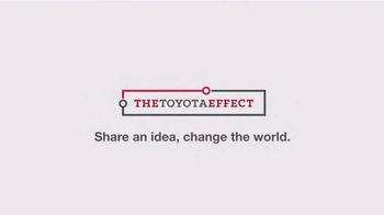 Toyota TV Spot, 'The Toyota Effect: Project BLAID' - Thumbnail 7