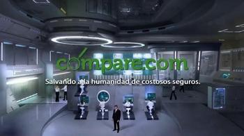 Compare.com TV Spot, 'Agent Compare: Saving Humanity' [Spanish] - Thumbnail 10