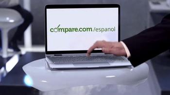 Compare.com TV Spot, 'Agent Compare: Saving Humanity' [Spanish] - Thumbnail 8