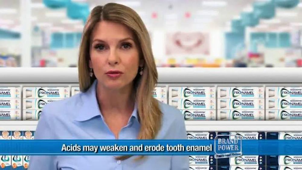 Sensodyne ProNamel TV Commercial, 'Acids'