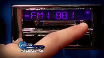 Custom Autosound TV Spot, 'Modern Sound'