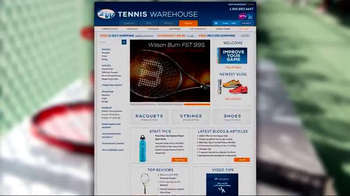 Tennis Warehouse TV Spot, 'Gear Up: Racquet Stability' - Thumbnail 3