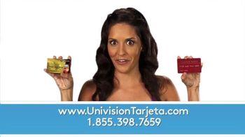 Univision Tarjeta TV Spot, 'Sin sobregiros' [Spanish]