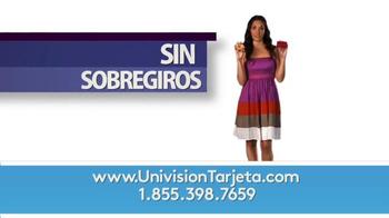 Univision Tarjeta TV Spot, 'Sin sobregiros' [Spanish] - Thumbnail 4