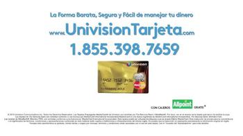 Univision Tarjeta TV Spot, 'Sin sobregiros' [Spanish] - Thumbnail 9