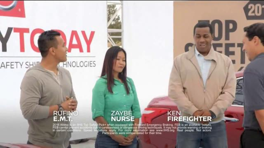 Nissan Safety Today Event TV Commercial, 'Everyday Experts'