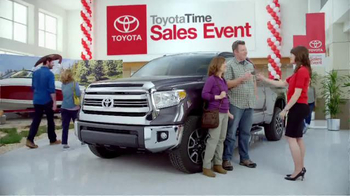Toyota Time Sales Event TV Spot, 'Happy Camper' - Thumbnail 6