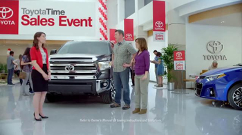 Toyota Time Sales Event TV Spot, 'Happy Camper' - Thumbnail 1