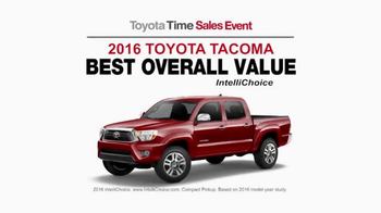 Toyota Time Sales Event TV Spot, 'Happy Camper' - Thumbnail 4