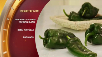 Sargento TV Spot, 'Food Network: Mexican Chicken Lasagna' - Thumbnail 4