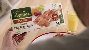 Al Fresco All Natural Uncured Chicken Bacon TV Spot, 'Luchador' - Thumbnail 4