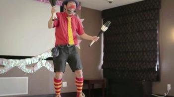 CreditCards.com TV Spot, 'Business Causal Birthday Clown'